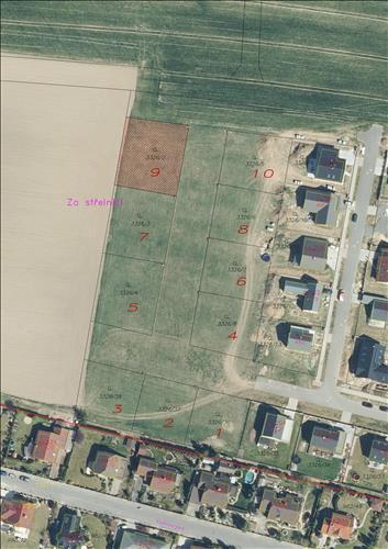 Stavební parcela ppč. 3326/2 v k. ú. Dolní Třešňovec